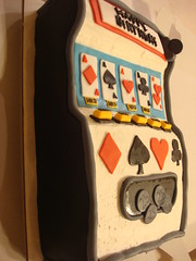 POKER MACHINE CAKE (Soad - A - Mae's) Tags: birthday gambling cake cards texas poker slot holdem maching