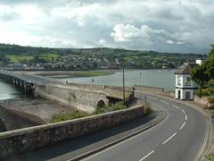 Shaldon Bridge Toll House in South Devon (Bridgemarker Tim) Tags: estuary teignmouth shaldon teign tollhouses devonbridges