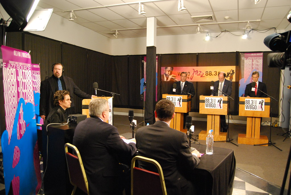 NJ Gubernatorial Debate at WBGO Jazz 88.3FM October 22, 2009