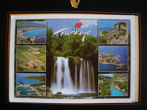 An unofficial Postcrossing card from Turkey