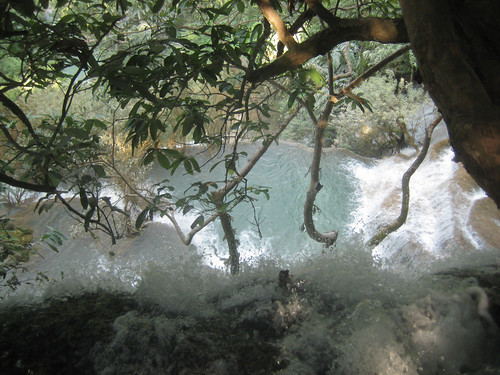 Waterfall near Luang Prabang