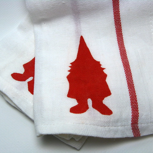 Gnome Dish Towels