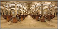 Panoramabild: Landau i.d.Pfalz Marienkirche (Dieter Meyer) Tags: panorama pano marienkirche landau neobarock kugelpanorama landaupfalz kirchenpanorama dietermeyer