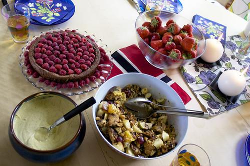 17. mai er en festdag og god mat er viktig