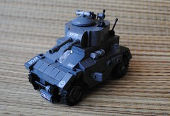 Panhard (AML) - side (Bruno VW) Tags: cold french grey war lego panhard bley foitsop dkbley