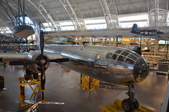 "Steven F. Udvar-Hazy Center: Boeing B-29 Superfortress ""Enola Gay"" (front starboard view), with Grumman F6F-3 Hellcat at back-right, among others (Chris Devers) Tags: japan plane airplane virginia smithsonian dulles fighter unitedstates martin aircraft massachusetts hiroshima worldwarii va somerville boeing fairfax bomber nationalairandspacemuseum atomicbomb dullesairport chantilly enolagay airandspacemuseum hellcat worldwartwo udvarhazy b29 superfortress grumman smithsonianinstitution nuclearweapon stevenfudvarhazycenter stevenfudvarhazy grummanf6f3hellcat eyefi f6f3 b2945mo grummanf6fhellcat b29superfortress exif:exposure_bias=0ev exif:iso_speed=800 exif:exposure=002sec150 exif:focal_length=18mm exif:aperture=f35 camera:make=nikoncorporation exif:flash=offdidnotfire flickrstats:galleries=1 camera:model=nikond7000 flickrstats:favorites=1 exif:orientation=horizontalnormal exif:vari_program=autoflashoff exif:lens=18200mmf3556 exif:filename=dsc0077jpg exif:shutter_count=11592 meta:exif=1350331271"