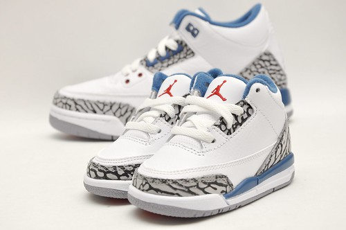 Toddler Jordan Retro 3 True Blue