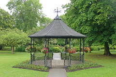 Bandstand in Pudsey Park by Tim Green aka atoach