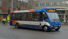 Optare Solo (Travis Pictures) Tags: bus buses exeter devon city citycentre transport publictransport stagecoach stagecoachsouthwest nikon d5200 photoshop citi exciti