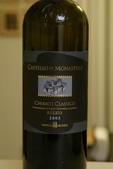 2003 Castello di Monastero Chianti Classico Riserva