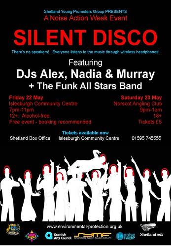 Silent Disco poster