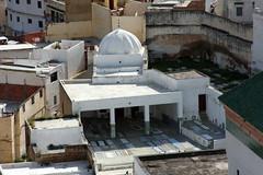 Mausoleum Of Moulay Idris (MykReeve) Tags: building columns courtyard mosque morocco mausoleum dome column moulayidriss geo:lat=34055433 المملكةالمغربية المغرب مولايإدريس geo:lon=5520818