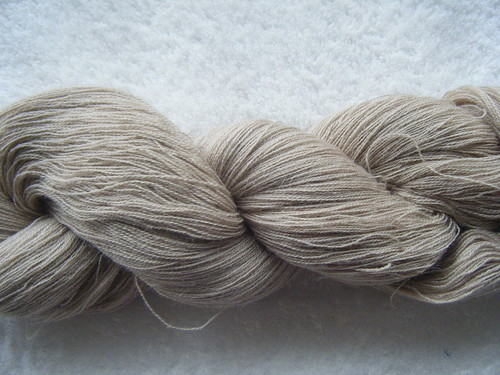 1300m of glenora laceweight in alpaca/silk - camel