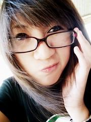 nerdypants. (Sstayseee) Tags: nerd girl female asian glasses geek emo scene filipina