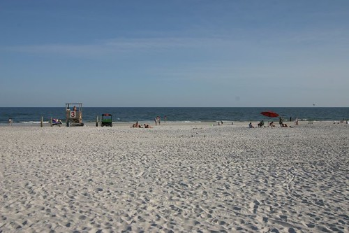 Gulf Shores Beach, Alabama.