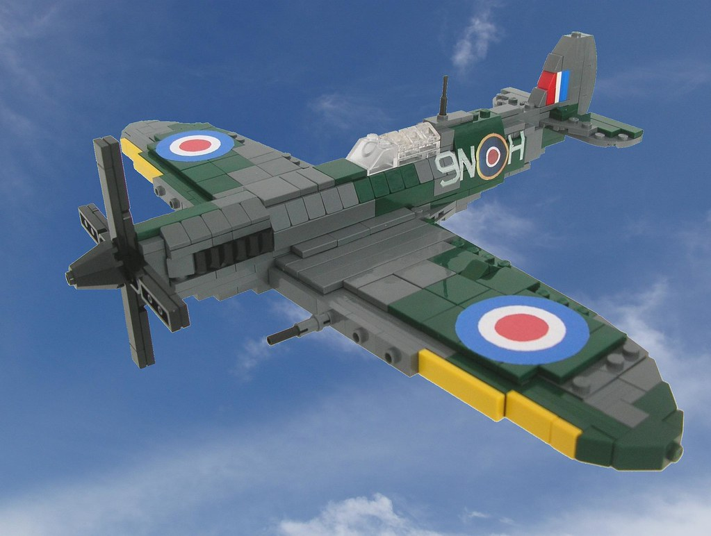 Spitfire Mk IX in flight (Final)