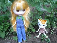 Maggie Gardening with Nikki!