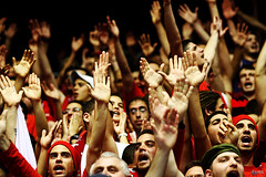 Put your hands up in the AIR (Yaniv Ben Simon) Tags: cup up basketball yellow israel hands hand jerusalem crowd final  yaniv yad     ybs     putyourhandsupintheair  ybsyanivbensimon yanivbensimon  wwwybscoil httpwwwybscoil