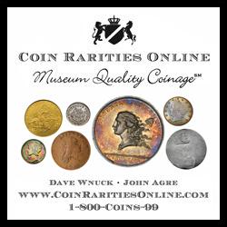 Coin Rarities Online ad