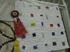 Third Place in category, Second place for Polly Briwa Log Cabin Challenge, wallhanging category (prize money too!)