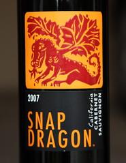 2007 Snap Dragon Cabernet Sauvignon