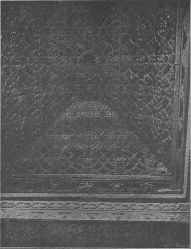 Artesonado de la Capilla mudéjar del Corpus Christi, principios siglo XX