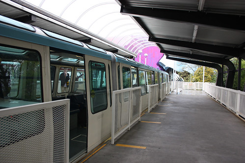 Riding the Seattle Monorail