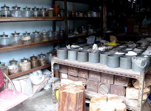 חנות תבלינים תאית מסורתית