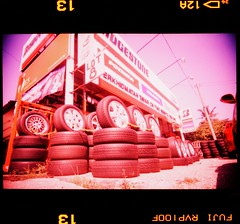 (19/77) Tags: film car 35mm lomo xpro toycamera sunny workshop malaysia 1977 negativescan vignette tyre rm fujichromevelvia100f vivitarultrawideslim autaut sportrim canoscan8800f myasin whiteslimangle superfatlens22mmf11