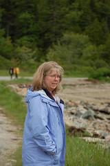 Laura at Orr Cove