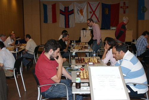 Constantinos Papatryfonos (Xipre) vs Fred Berend (Luxemburg)