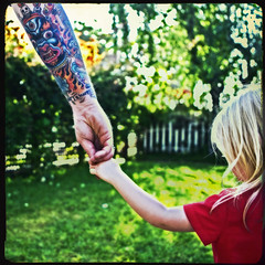 I wanna hold your hand (::big daddy k::) Tags: love tattoo frankie holdinghands fatheranddaughter project365 iwannaholdyourhand ortoneffect treebokeh project3661 f64g5r2win