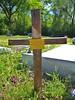 Poetic Alabama Gravestone Cross (sunsinger) Tags: cemetery grave graveyard grass poem cross headstone alabama poetic gravestone marker churchyard oldchurchcemetery