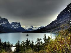 Road Trip in HDR - Glacier 16 (Daedalus_T) Tags: park wild island montana goose glacier national glaciernationalpark hdr