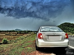 It's about to pour!! (swagat_rath) Tags: india cars chevrolet car canon gm shot shots nh powershot viva orissa hdr canonpowershot bhubaneswar forenza optra nubira lacetti a590is