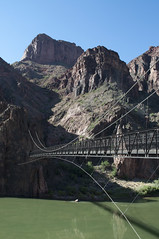 Bridge across the Colorado River (Grand Canyon, Arizona, United States) Photo