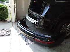 audi Q7 rear hitch7 (Murigu) Tags: audi hitch q7