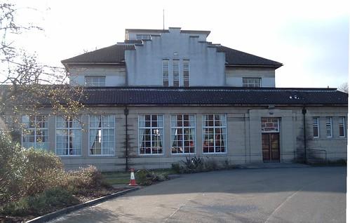 Glen Pavilion, Dunfermline, East Side.