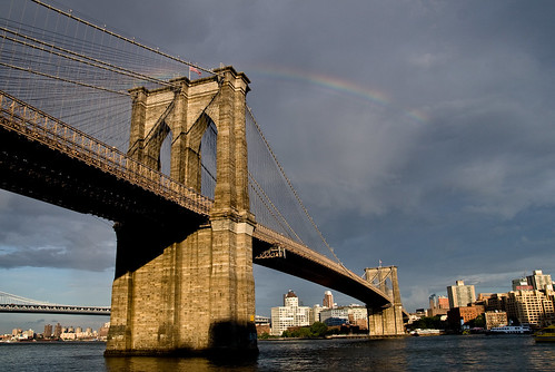 Brooklyn Bridge Rainbow