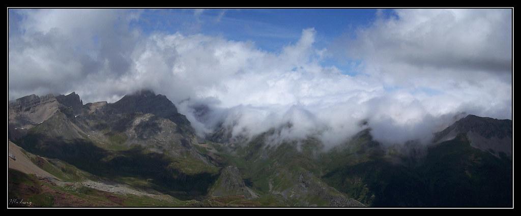 Vistas hacia el nordeste desde Chipeta Alto