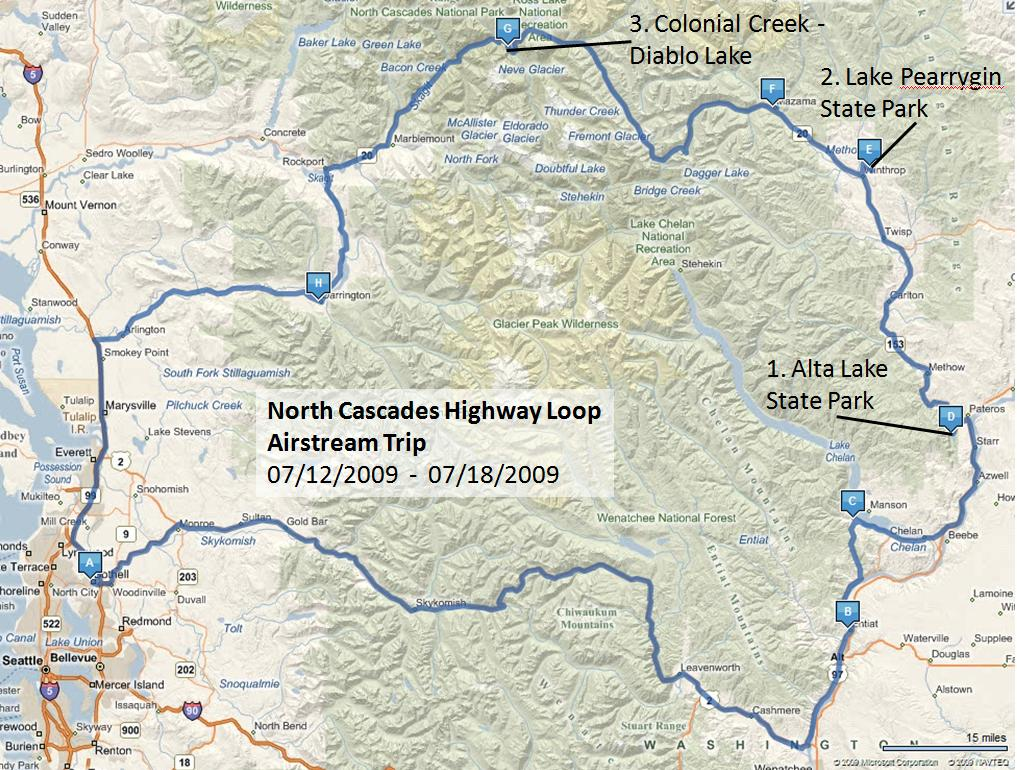 Washington: North Cascades Highway Loop Trip, Awesome! - Airstream ...