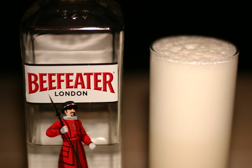 Beefeater Gin and Ramos Gin Fizz