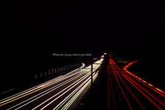 Where do you go, when it gets dark? [66/80] [EXPLORE] (Colin/Murphy) Tags: light party sun green cars painting georgia lights highway long exposure traffic miracle sunday 400 anthony circa survive