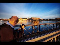 Another flickr photographer (Kaj Bjurman) Tags: morning blue sky castle eos flickr sweden stockholm meta deep 5d sverige hdr kaj mkii markii cs4 photomatix bjurman intensehdr