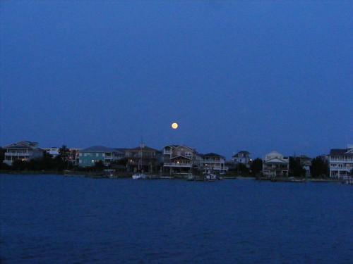 Full Moon over Wrightsville Beach