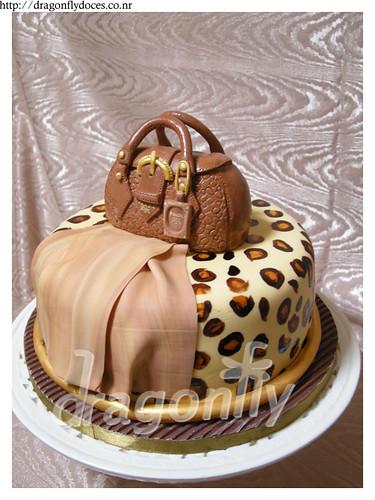 And The Bag to Match: Prada Handbag and Leopard Skin cake / Bolsa ...