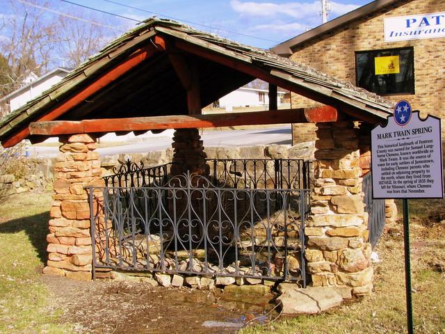 Mark Twain Spring - Jamestown, TN