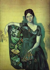Picasso, Portrait of Olga in an Armchair