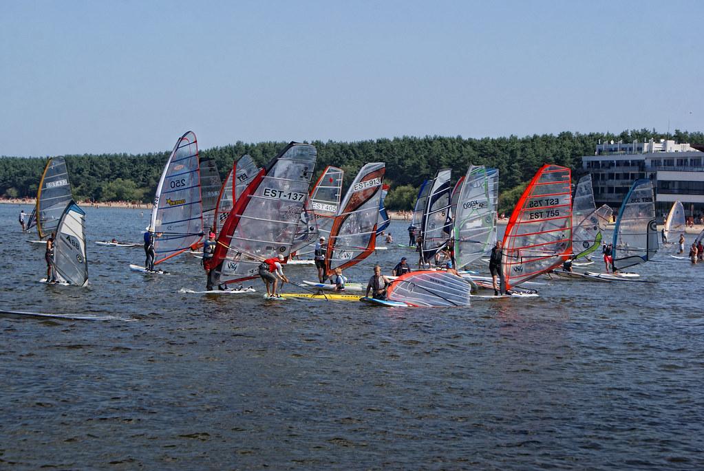 windsurfing at the Tallinn