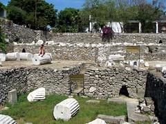 Mausoleum of Halicarnassus (bazylek100) Tags: turkey ancient ruins trkiye ruin mausoleum seven wonders bodrum archeological turcja halicarnassus asiaminor caria mauzoleum mausollos